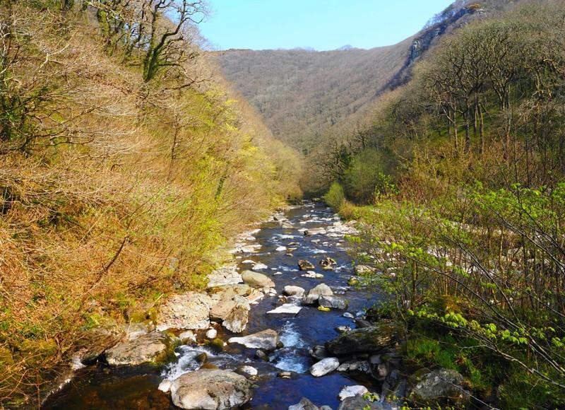River Lyn walk