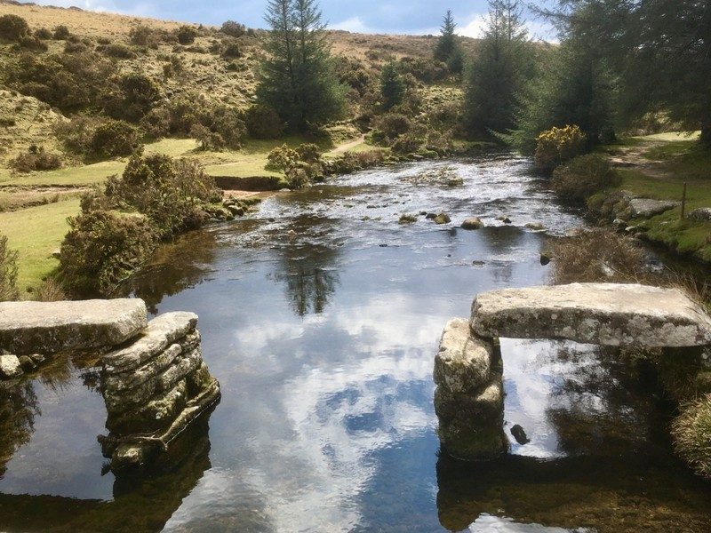 Walking on Dartmoor and more remains of clapper bridge
