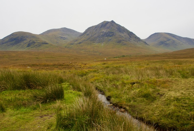View of Highlands approach to Glencoe