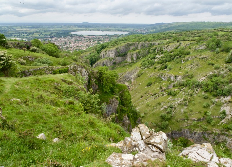 Cheddar Gorge views from the other side