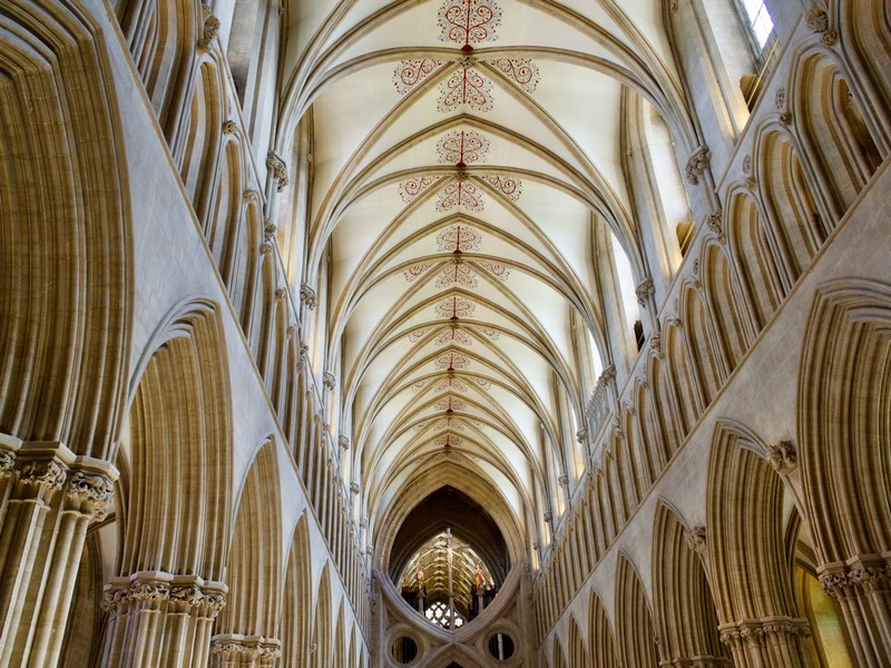 Wells Cathedral Ceiling
