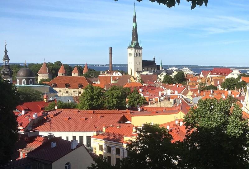 View of Old Tallinn