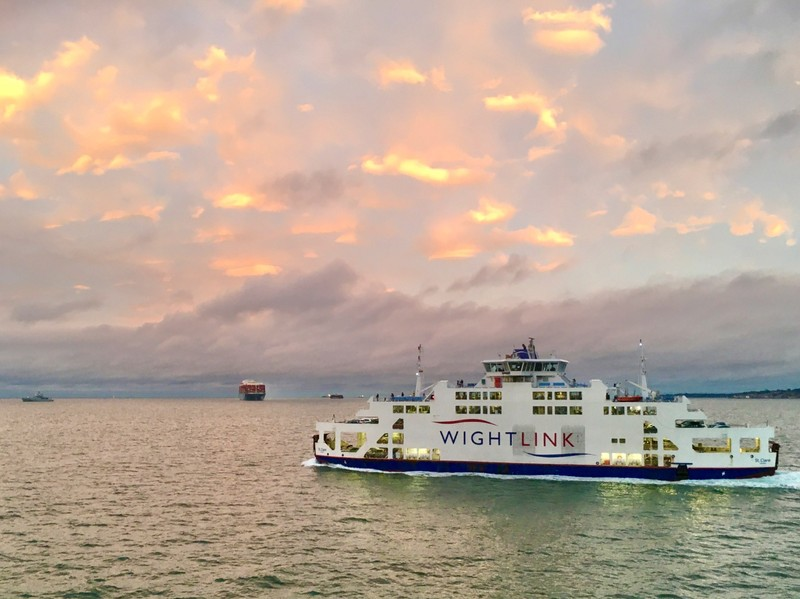 The Isle of Whight Ferry