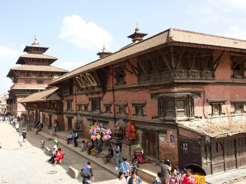 Palace in Durbar Square, Patan