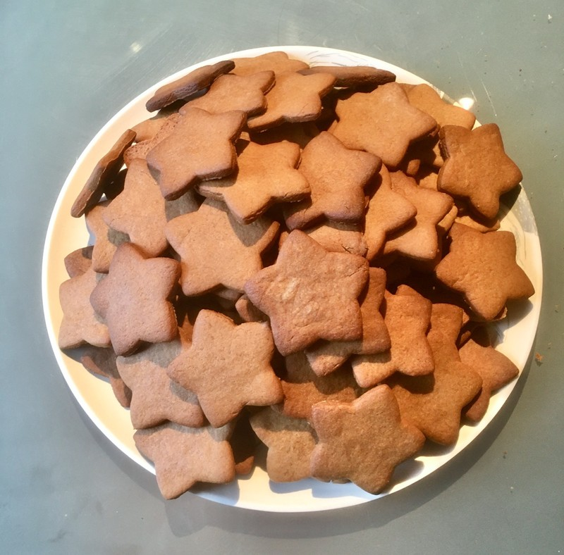 100 Ginger biscuits for Anne