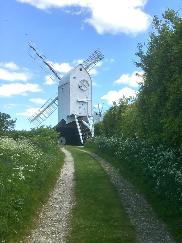 One of the Jack and Jill windmills, another walk close by from where we are staying