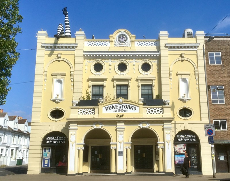Duke of York Cinema Theatre where we go see movies when we are not world nomads