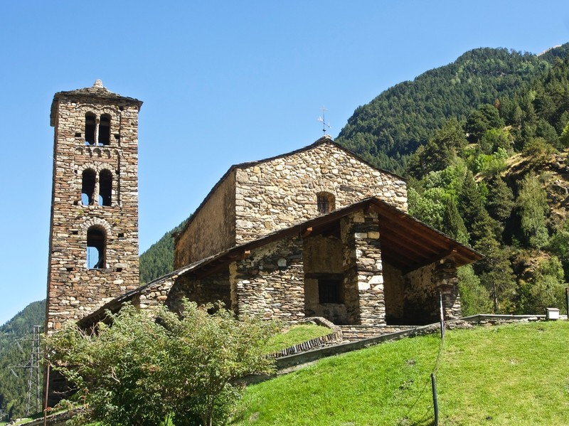 Romanesque church of Sant Joan de Caselles from XII century