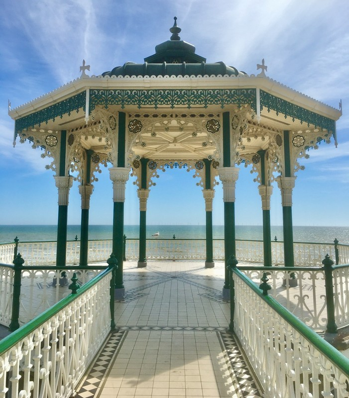 The Band Stand on Brighton Seafront