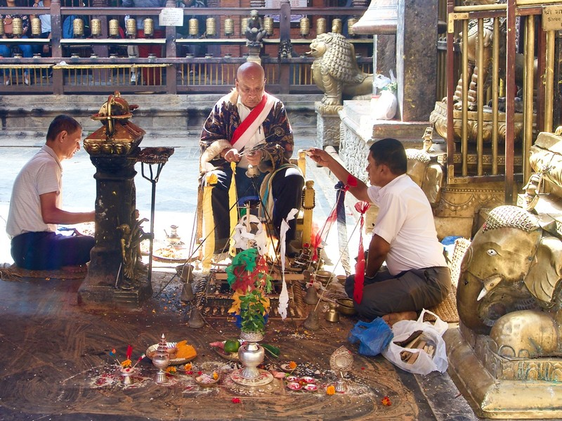 Golden Temple offering ceremony