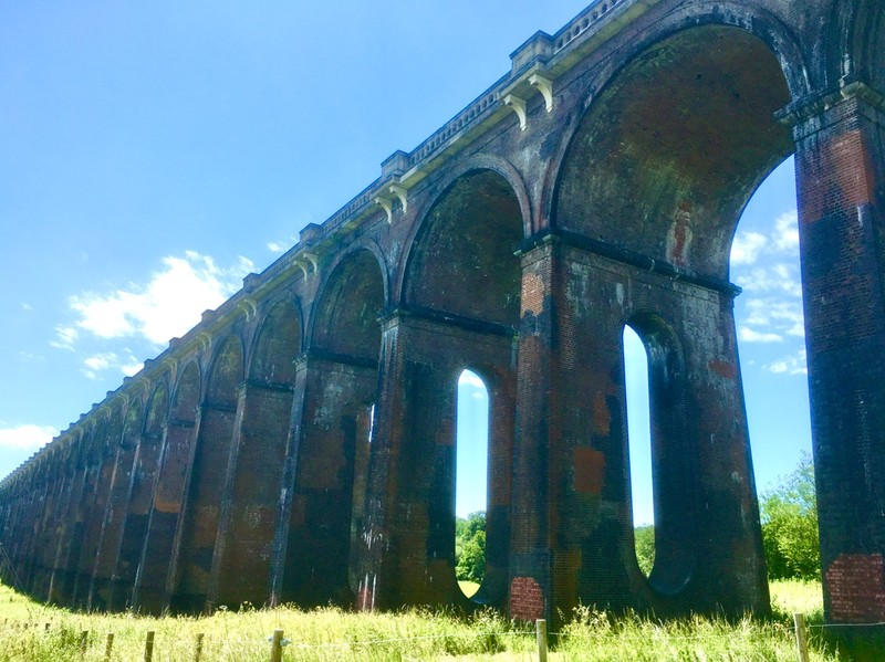 Brighton to London Railway Viaduct