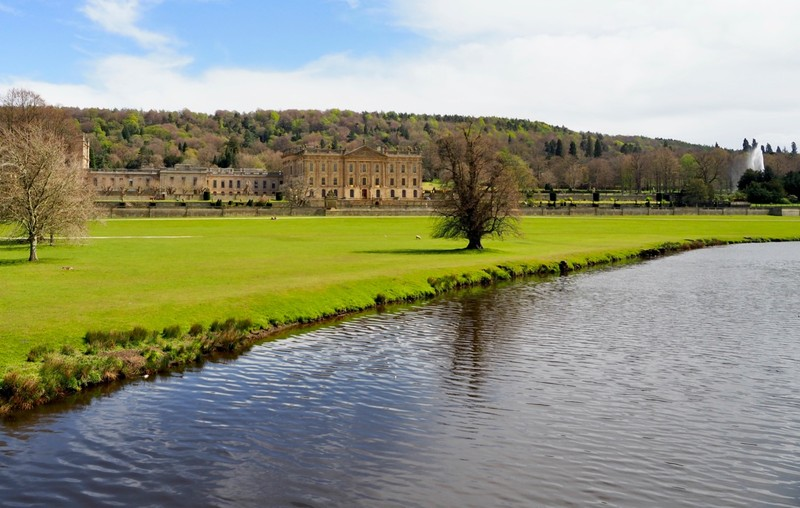 Chatsworth House Grand View