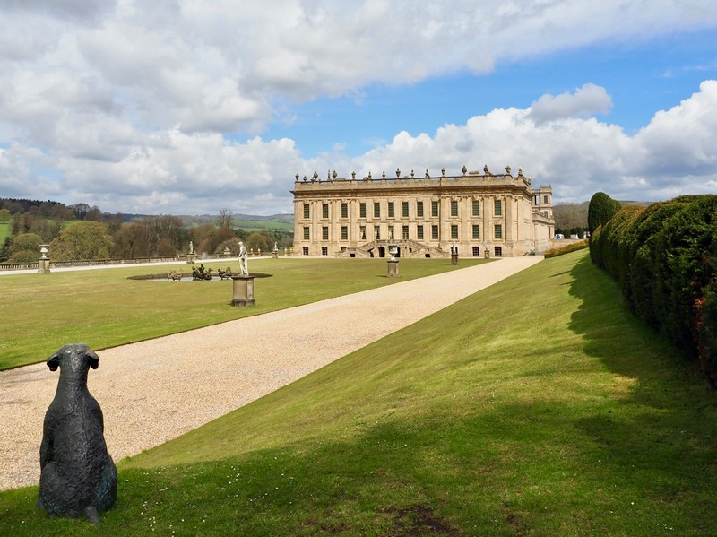 Chatsworth House and its gardens