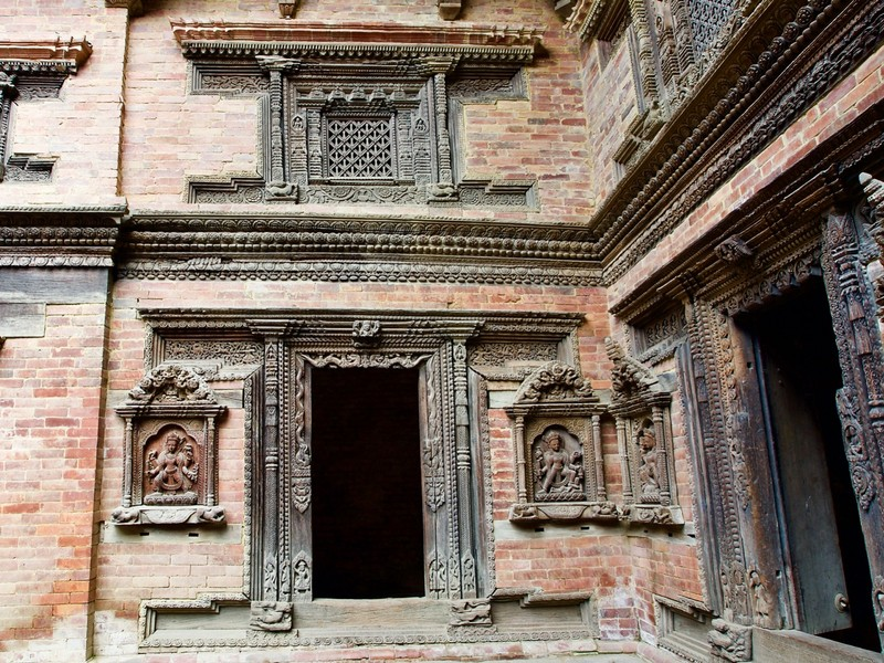 Courtyard in Palace of Durbar Square