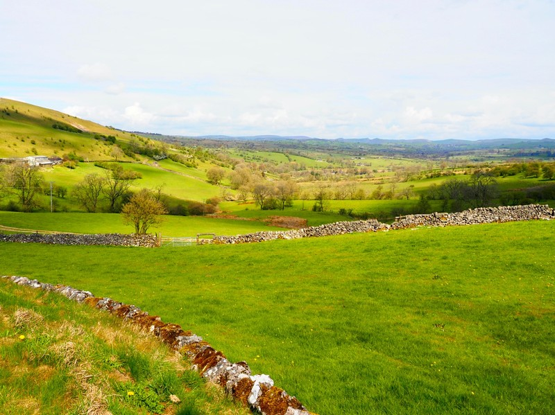 Scenery in the Peak District