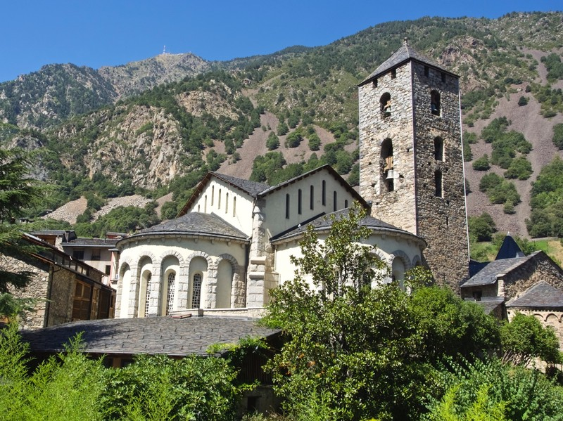 St Esteve Cathedral in Andorra La Vella