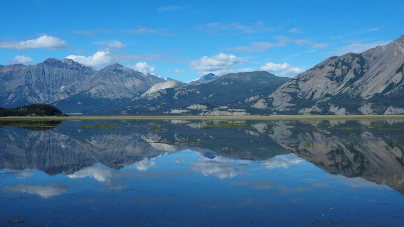 Kluane Lake Reflection