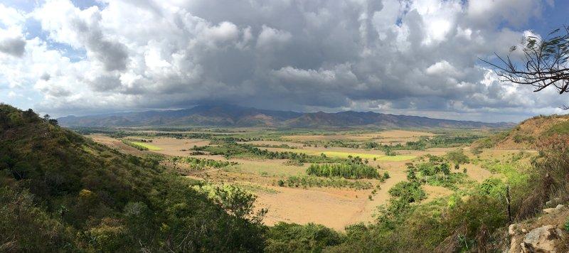 Valley close to Trinidad