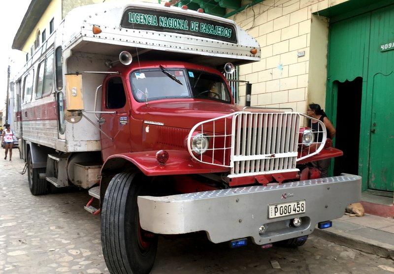 Bus in Trinidad