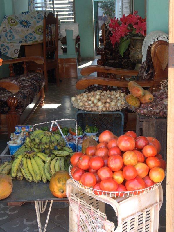 Front room shop in Trinidad