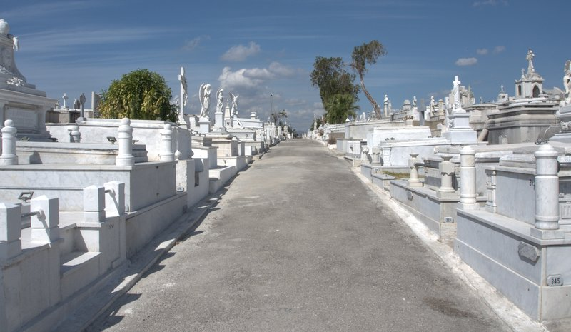 Cemetery where Fidel Castro is buried