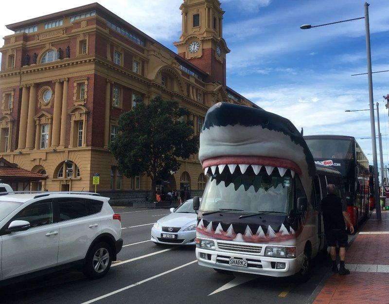 Auckland Tour Bus