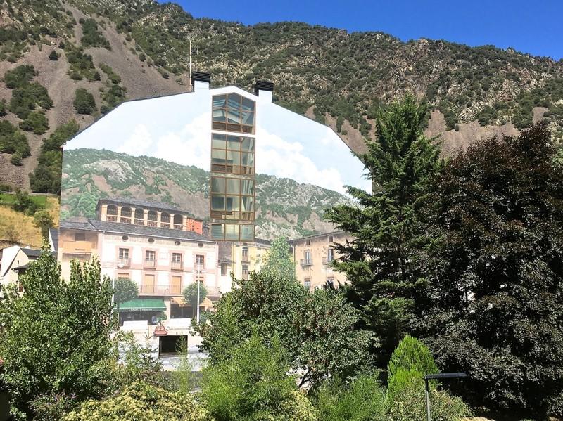 Mural in Andorra La Vella