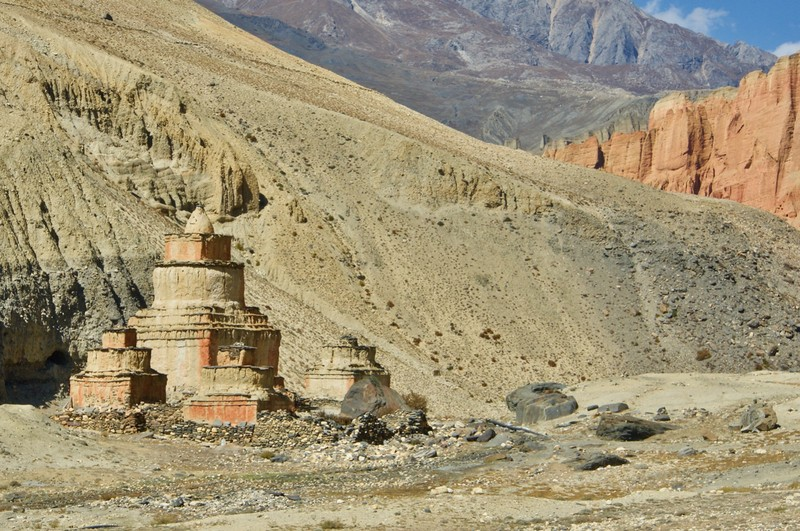 Stupa lucky totem for travelers