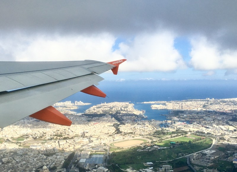 Malta view from the air