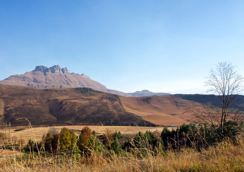 View of part of the Drakensberg