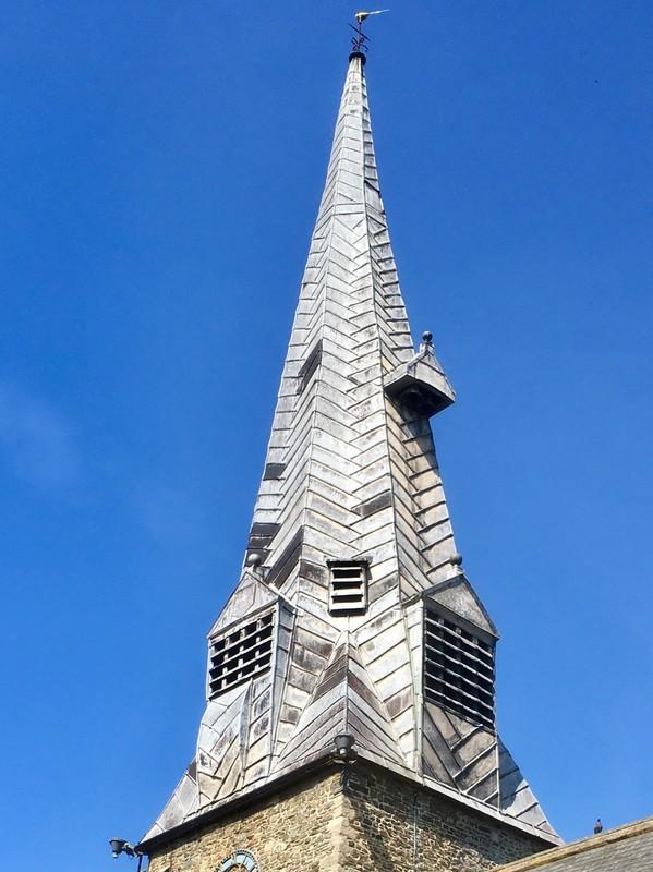 Barnstable church spire