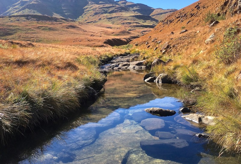 Hike in the Drakensberg
