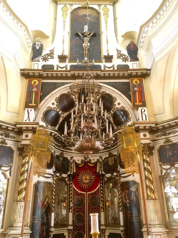 Inside St Catherine Orthodox Church