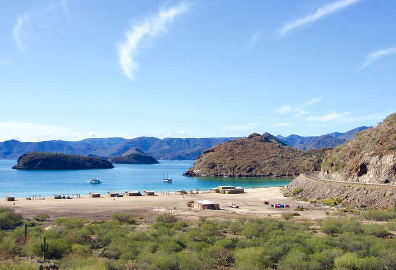 Beach on Baja Concepcion