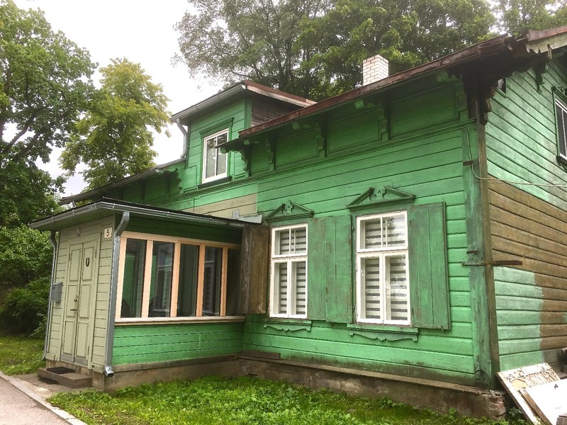 Traditional house in Parnu