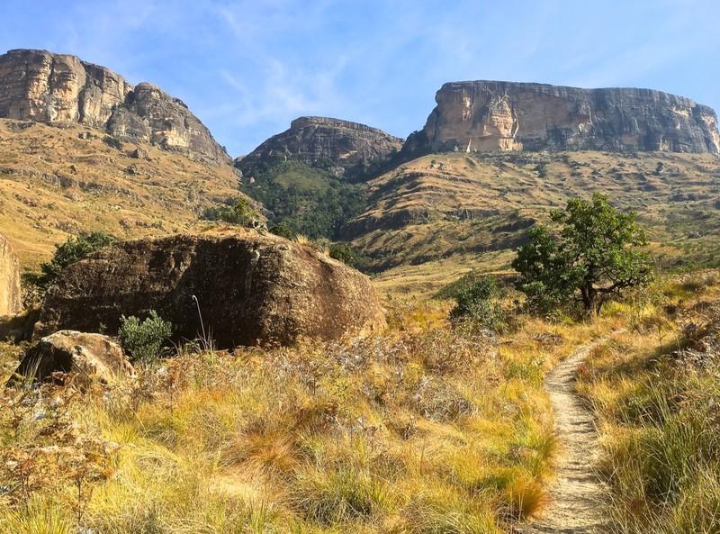Tiger Falls Walk in the Royal Natal NP