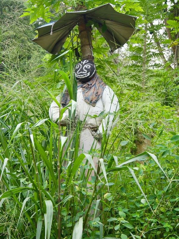 Scarecrow to ward off Evil