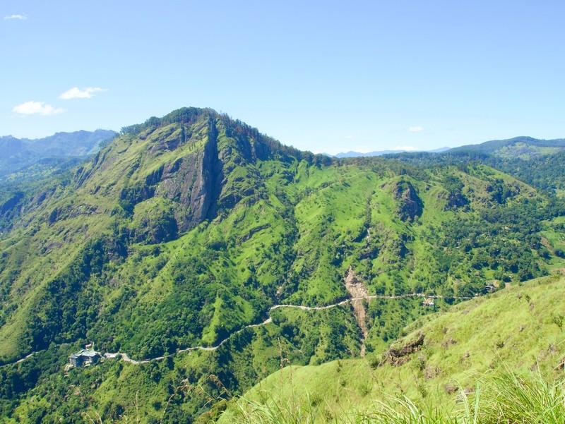 View from Little Adams Peak