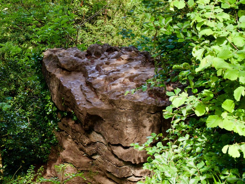 Devil's Pulpit: Local myth states that the Devil created the Pulpit to preach to the Monks of Tintern, in the hopes that he could tempt them away from their religious ways