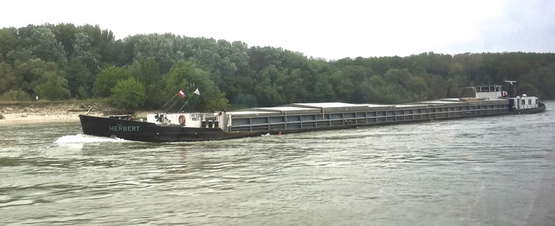 Shipping on the Danube