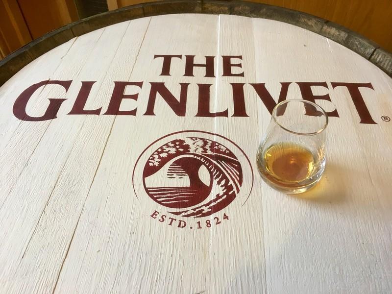 A wee dram of Glenlivet best