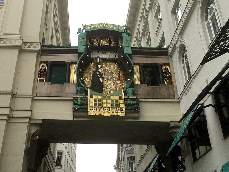 Anker Clock in Vienna
