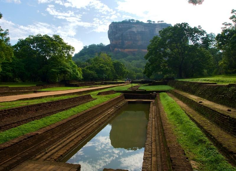 Sigiriya and its moat