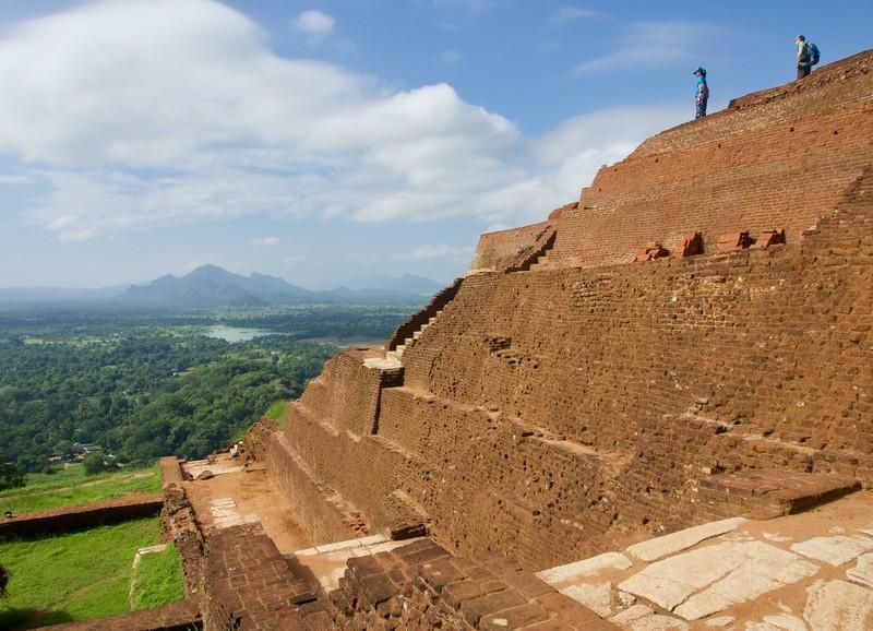 Top of Sigiriya Rock