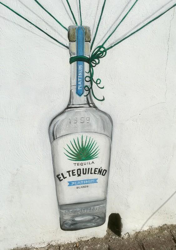 Street art in Tequila