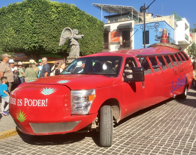 Tequila tour transport