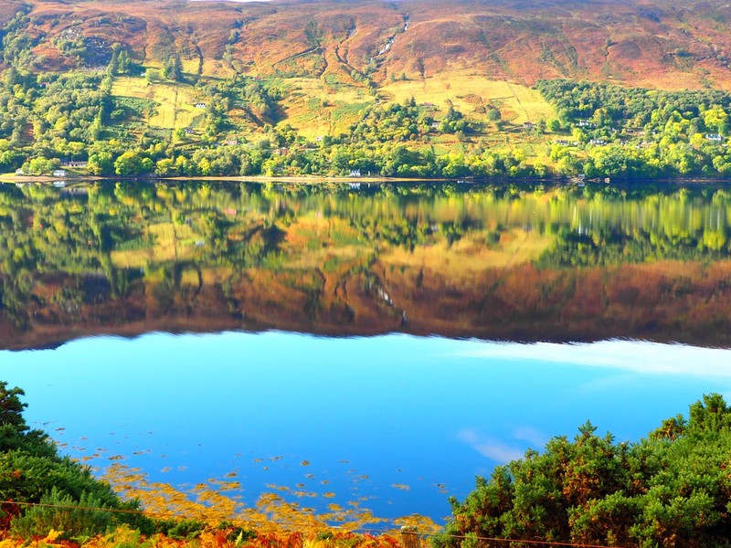 Loch Broom Reflection