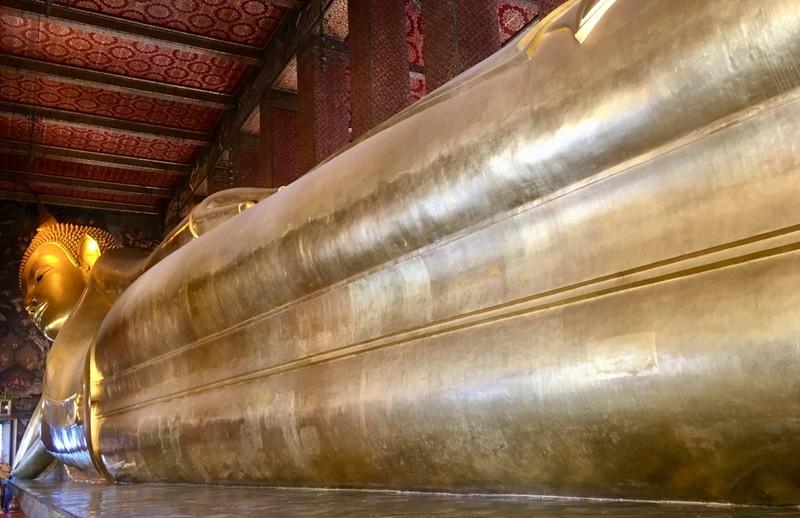 Massive Reclining Buddha at Wat Pho