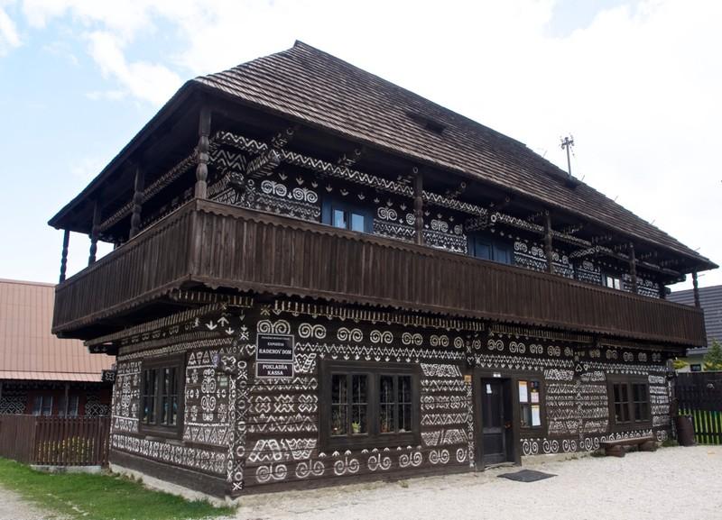 Čičmany house