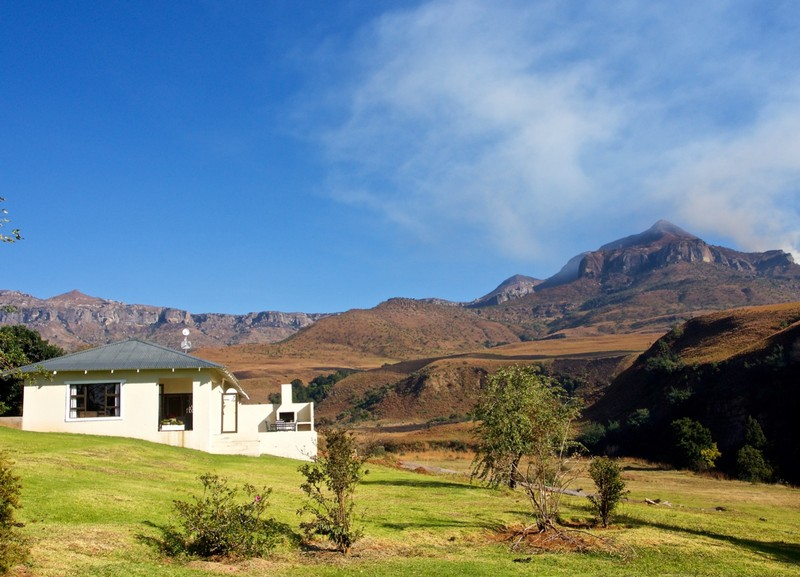 Our cottage in Northern Drakensberg